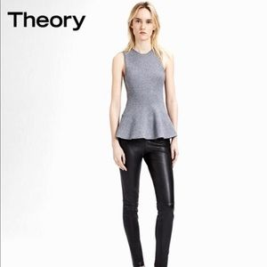 NWT Theory Must have Classic Peplum in your closet